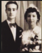My Meme and Grandpa on their wedding day in Morocco