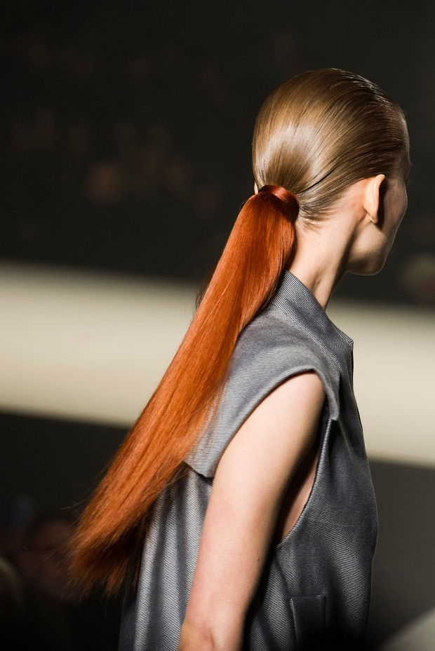 Alexander Wang's A/W 2013 dip-dyed ponies