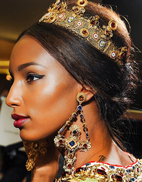 Dolce & Gabbana A/W 2013 Crowning Glory Accessories