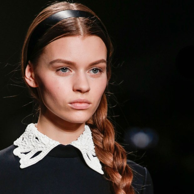 Valentino A/W 2013 Braids and Ribbons