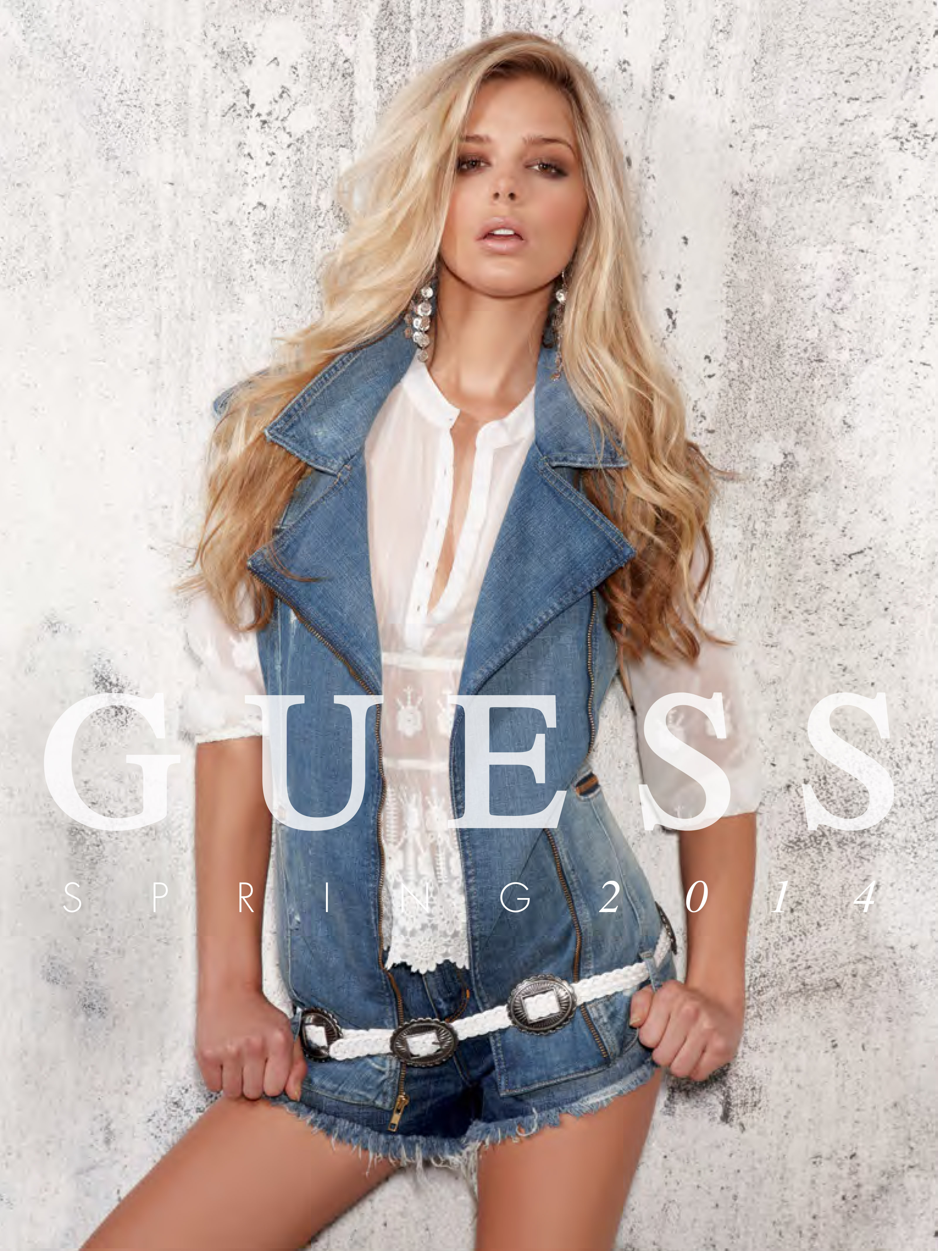 Guess Spring Collection Sexy as Ever with Canuck Model ...