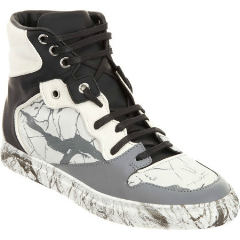 Balenciaga Marbled Multimatieres High Tops