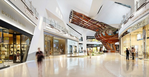 Bottega Veneta, Louis Vuitton, Roberto Cavalli: Toronto will soon resemble Las Vegas' mega luxe Crystals Shopping Centre