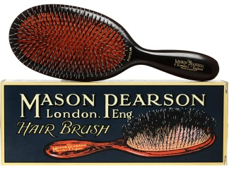 HAIR: Yeah, we know shelling out four shellac manicure's worth of cash seems a little excessive for a hair brush, but trust us: this is no regular brush, and nearly every hairstylist and beauty authority in the world can't be wrong. The classic Mason Pearson Hairbrush is a cult favourite that truly lives up to its hype thanks to its unique design, which has been handmade since 1885. With the ability to custom create your made-to-order brush, options like paddle size, and nylon, bristle or a blend of both tufts ensure you'll have the best hair of your life, for life: these babies last forever, making them well worth the investment.
