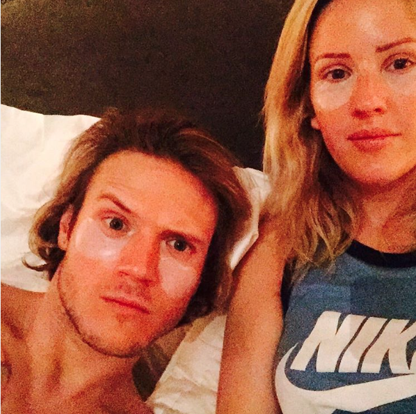 "British Babe Ellie Goulding pampers with her BF and tweets: ""Girlz night in (he's going to kill me) Nah but Rodial Dragon's Blood eye masks are seriously good. I bloody love @Rodialskincare"" Editor's Note: THESE ARE AMAZING! Stay tuned..."